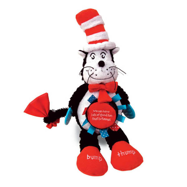 Dr. Seuss The Cat In The Hat Touche & Teethe Cat