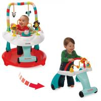Kolcraft Baby Sit & Step® 2-in-1 Activity Center